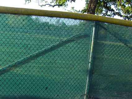 baseball fence screen