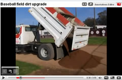 baseball field dirt upgrade