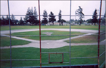 old baseball field
