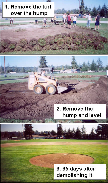 fixing a bad mound