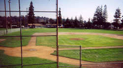 college field after