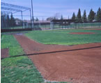 little league infield edged